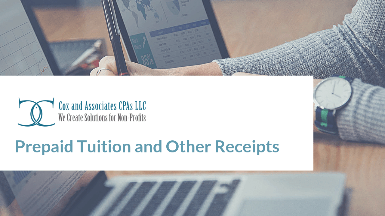 prepaid tuition and other receipts